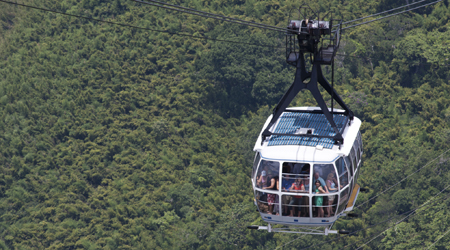 mountain facts for kids the sugarloaf cable car