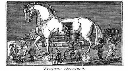 Trojan Horse Legend - Oddizzi