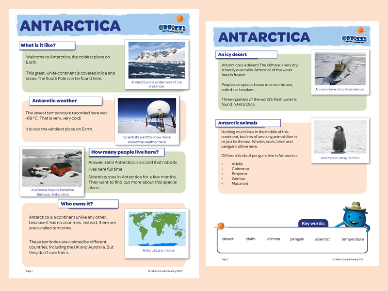 Hot and cold places oddizzi year 2 antarctica gumiabroncs Images