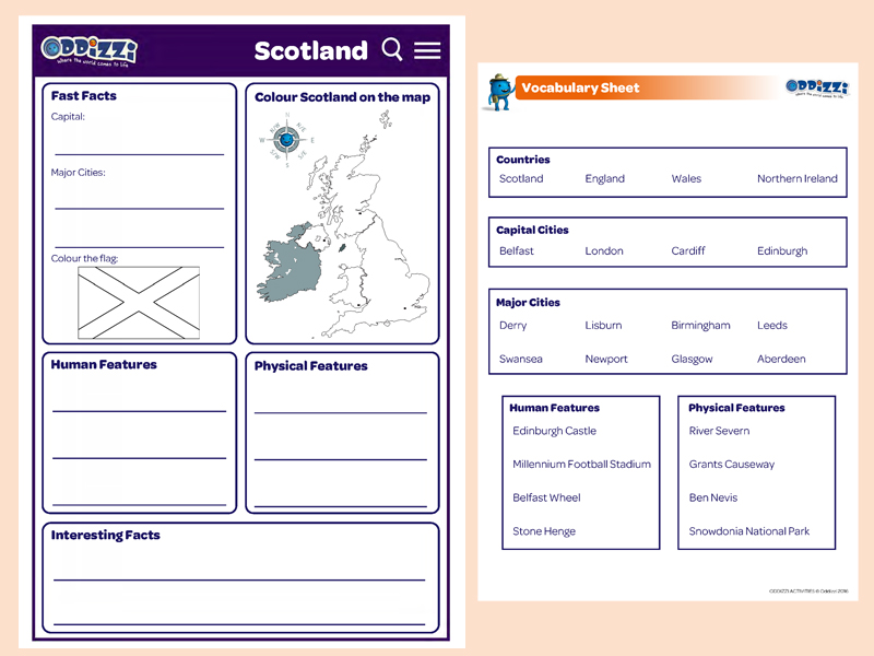 United Kingdom Oddizzi. Scotland Preview Download. Worksheet. Renewable Energy Worksheet Ks1 At Clickcart.co