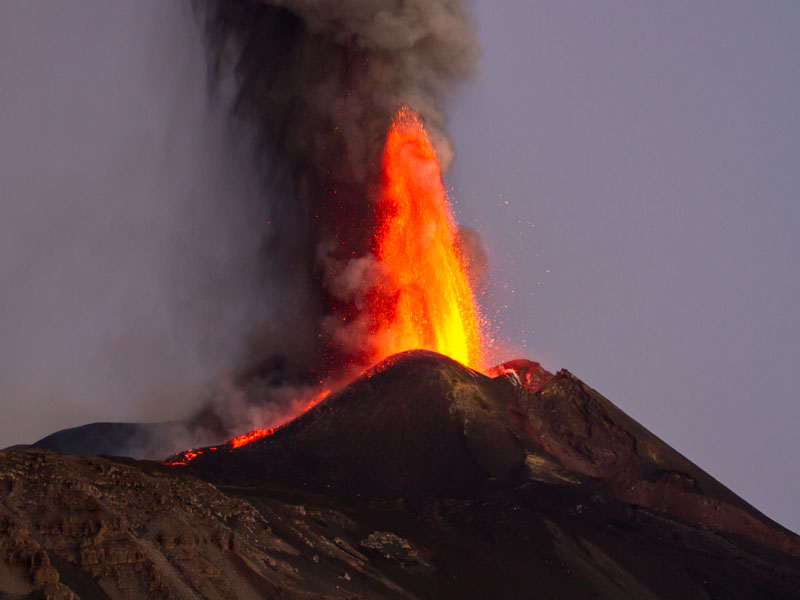 What are volcanoes?