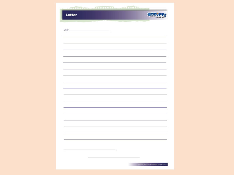 Letter Planning Frame Ks2. Letter  writing template PREVIEW DOWNLOAD Rainforests Oddizzi