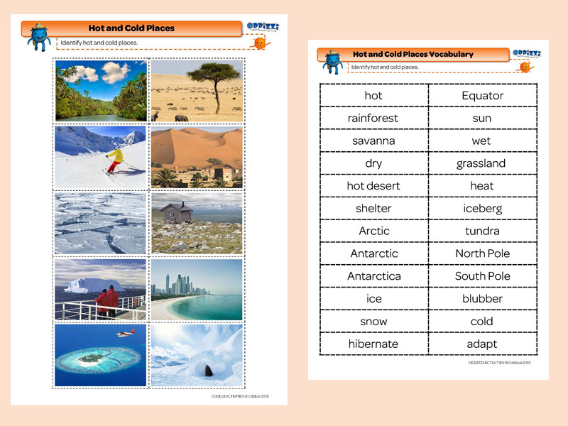 Hot and cold places oddizzi hot and cold places photos and vocabulary gumiabroncs Images