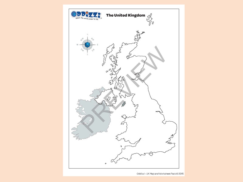 The United Kingdom Blank Outline Map Of Uk Preview Download: Blank Map Of Scotland Worksheet At Alzheimers-prions.com