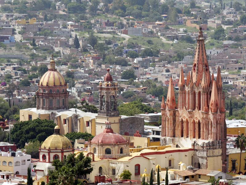 La Parroquia Church In San Miguel De Allende