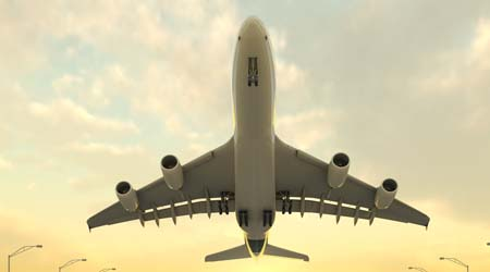 Global air transport - fun facts for kids