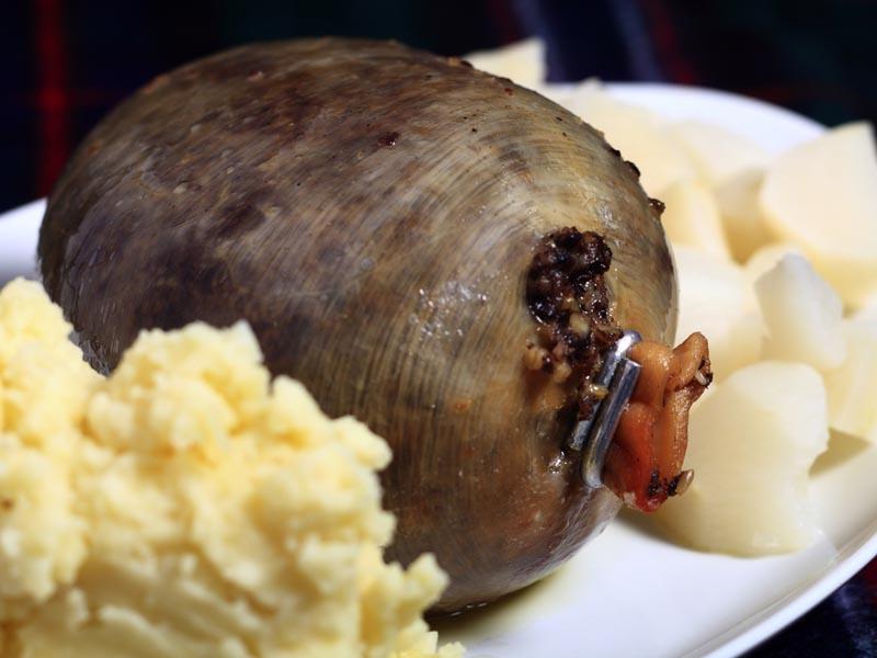 Typical Scottish Food Menu