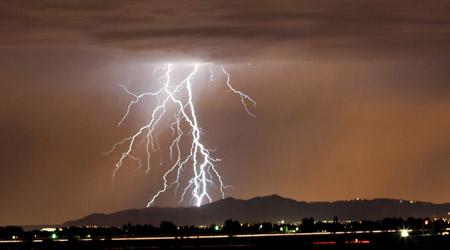 Thunder and lightning for kids