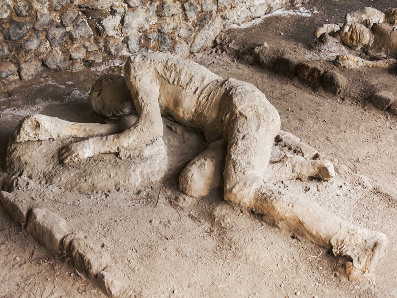 One Of Vesuvius Victims From 79 AD